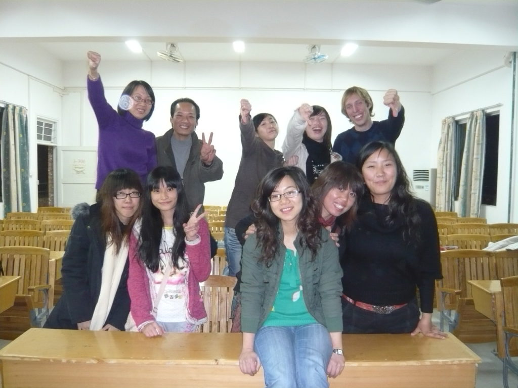 Teach English in China Class